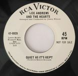 "45Re✦SUZY WALLIS ""Kisses On Paper""✦LEE ANDREWS ""Quiet As It's Kept""✦Great Sides♫"